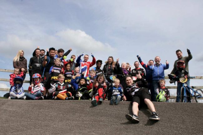 Redditch BMX Club on target for £1,000 in fund raising blitz