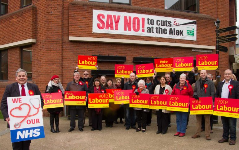 Redditch Labour party launches its manifesto for the local elections ...