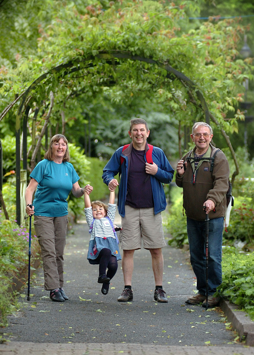 Step out and explore the best of redditch with a walking for Charity motors 8 mile lahser