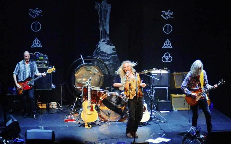 Tribute night atthe Palace as band pays homage to Led Zeppelin II