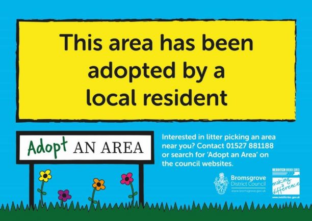 Adopt an Area initiative launched to help clear Redditch of litter