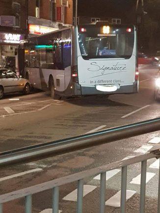 Diamond Bus crashes on Unicorn Hill after man releases handbrake