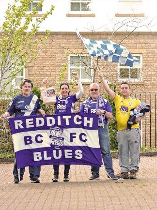 Fans raise £700 in sponsored walk in aid of former Blues player's daughter