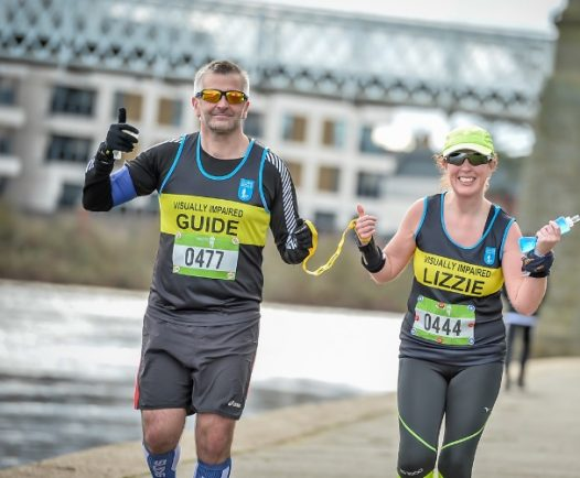 Visually-impaired woman from Redditch all set for London Marathon