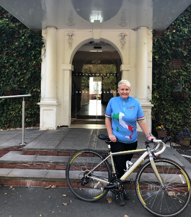 Redditch woman to cycle Milan to Venice in the lead up to 50th birthday