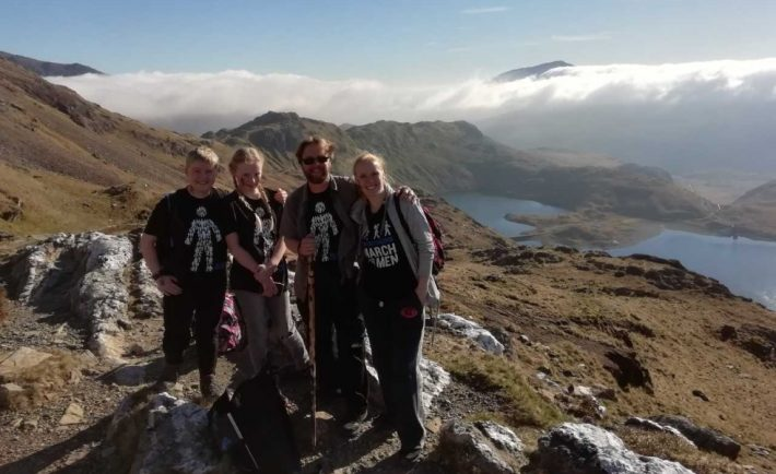 Big hearted Redditch family conquer Snowdon in aid of Prostate Cancer UK