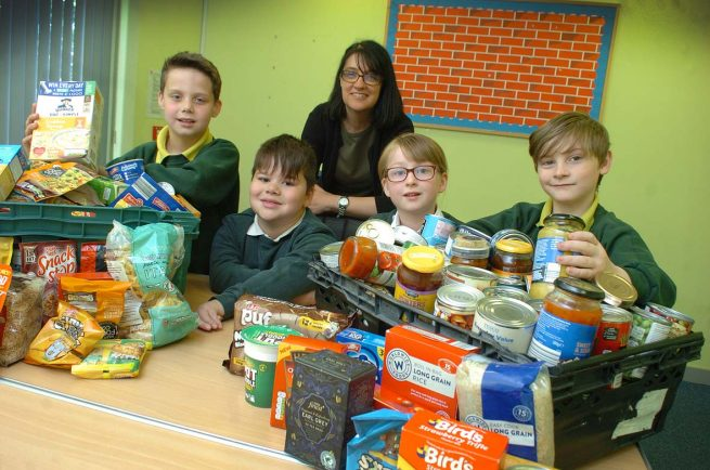 Woodrow First School gives major boost to Redditch Nightstop