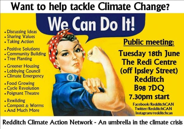 Redditch CAN – Action group formed to fight climate change locally