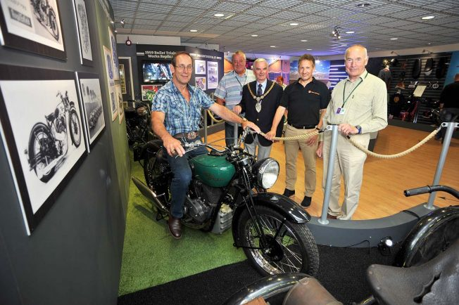 Grandson of Royal Enfield founder goes back in time at showcase