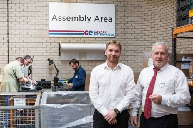 Contract from Redditch firm Heller helping disabled people find work