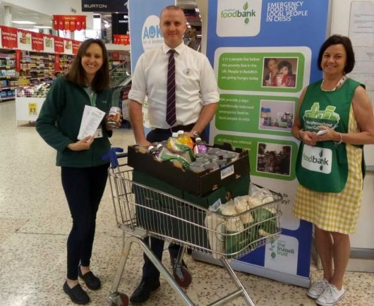 Fantastic Delight At Tesco Shoppers Donations To Redditch