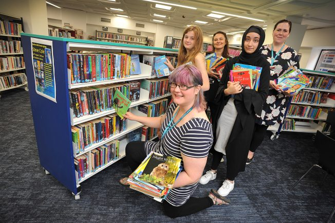 Redditch's award-winning library reveals its most read books