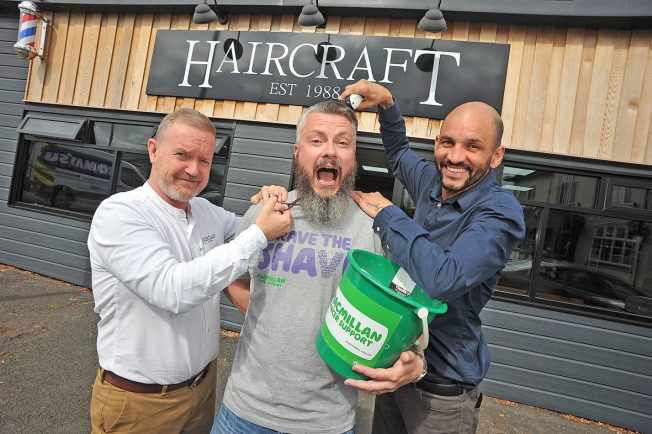 Redditch coach driver to have 'full head of hair' shaved off for Macmillan