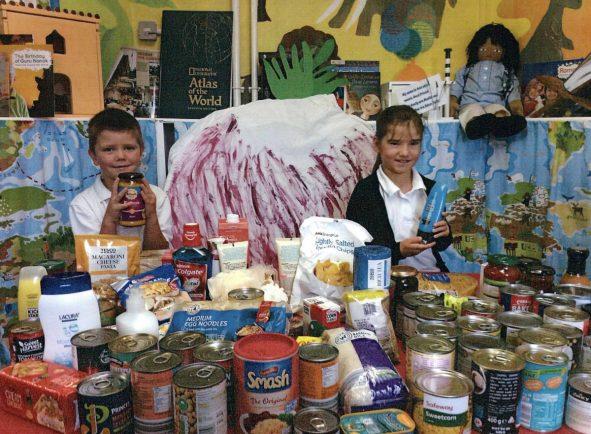 Feckenham C of E First School celebrates the coming of harvest