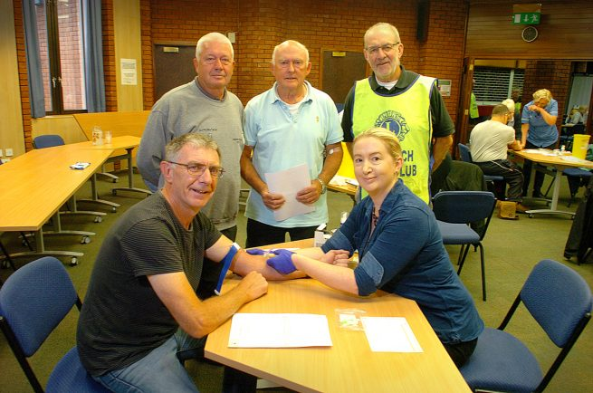 Town Hall packed out as Redditch men flock for prostate cancer test