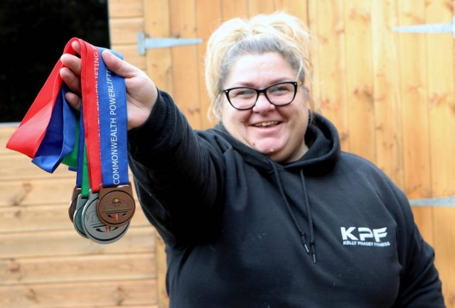 Redditch powerlifter picks up Silver for England