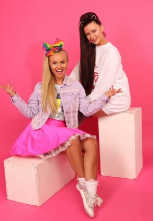 High energy tribute act to Jojo and Ariana Grande coming to the Palace